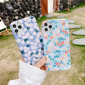 Blue Flower Phone Case For iPh