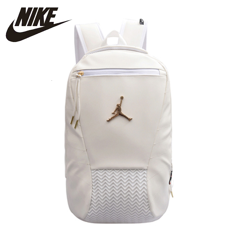 Nike Air Jordan Basketball Backpack Large Capacity Training Bag Water-proof Sports Bags