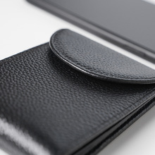 Mens Wallets Vintage Genuine Leather Wallet Coin Purse Short Paragraph Men Anti Theft