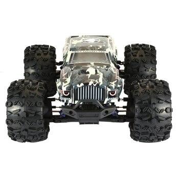 Nuevo ZD RACING MT8 Pirates3 1/8 2,4G 90 km/h coche de carreras eléctrico sin escobillas RC todoterreno modelo Big Foot Monster Truck RTR/Marco de coche