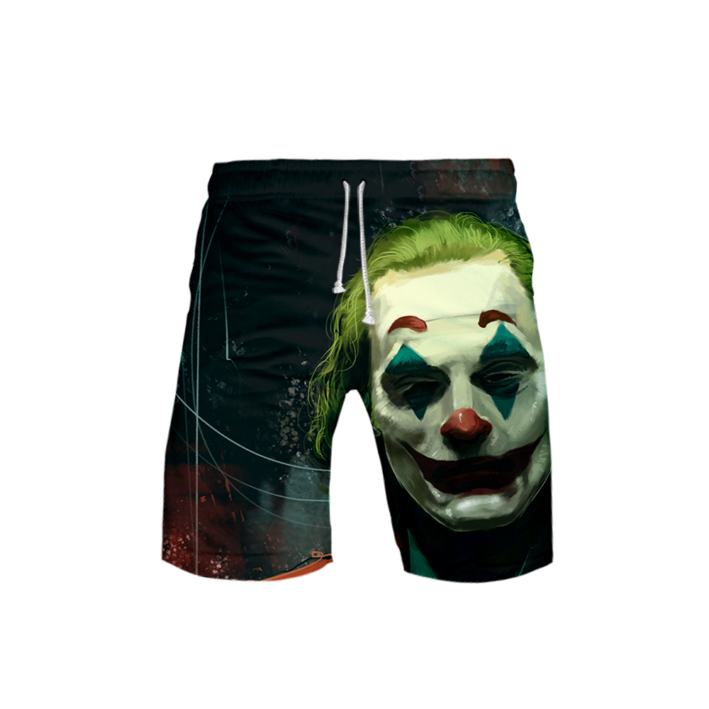 3 To 20 Years Swim Shorts Trunks 3D Joker HAHA Board Shorts Swimming Pants Swimsuits Boys Running Sports Surffing Shorts
