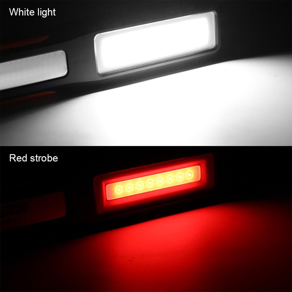 USB COB LED Magnetic Work Light Car Garage Mechanicome Nice Rechargeables S2F0