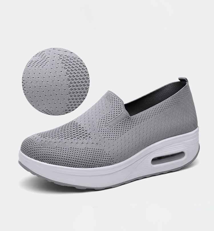 QJ 869-2020 New Spring Autumn Women's Flat Shoes Comfortable Nurse Sneakers-4