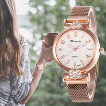 Classic Rose Gold Watches Fashion Quartz