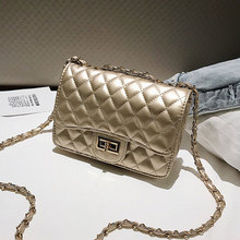Diamond lattice PU Leather Crossbody Bags For Women 2020 Mini Shoulder Messenger