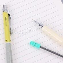 New 1set 0.3mm Mechanical Pencil Automatic Pencil For Writting Kawaii Stationery K3KE