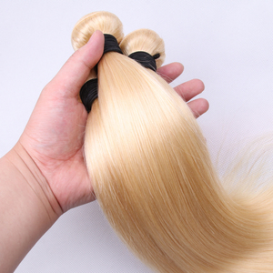 Image 5 - 613# Bulk Sale 3 4 9 Bundles Straight Human Hair Blonde Brazilian Hair Extension Remy Straight Hair Long 30 inch Jarin Hair