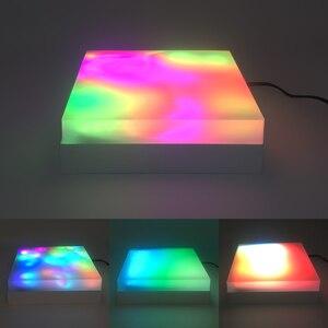 Image 5 - מטריקס 16x16 DIY GyverLamp LED דיגיטלי גמיש מיעון בנפרד פנל פיקסל אור תצוגת לוח WS2812B DC5V