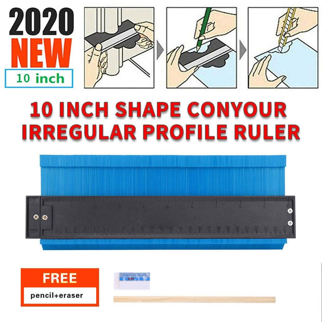 Contour Gauge Profile Plastic Duplications Copy Irregular Shapes 10/'/' 2 Pencil