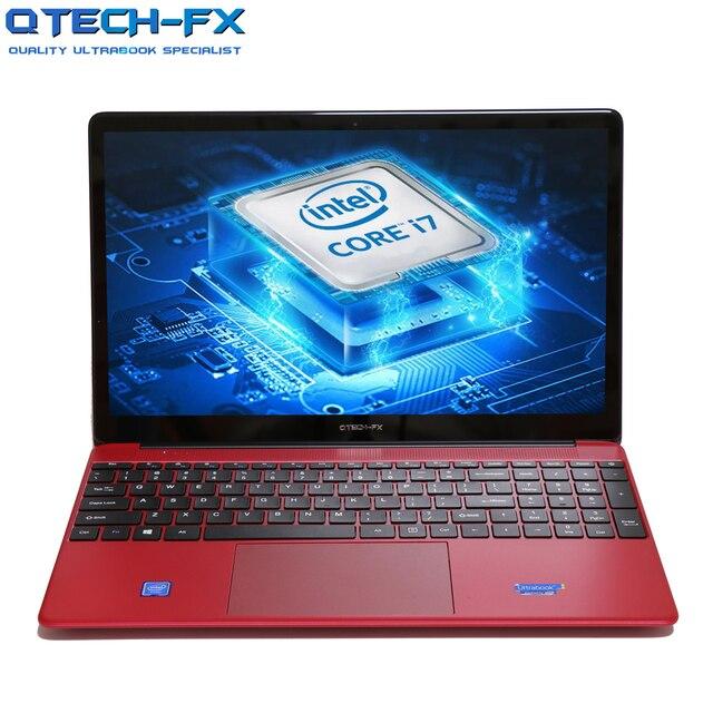 "15.6 ""노트북 빠른 CPU 인텔 i7 128G SSD 및 1000G HDD Windows 10 노트북 비즈니스 스쿨 아랍어 AZERTY 스페인어 러시아어 키보드"