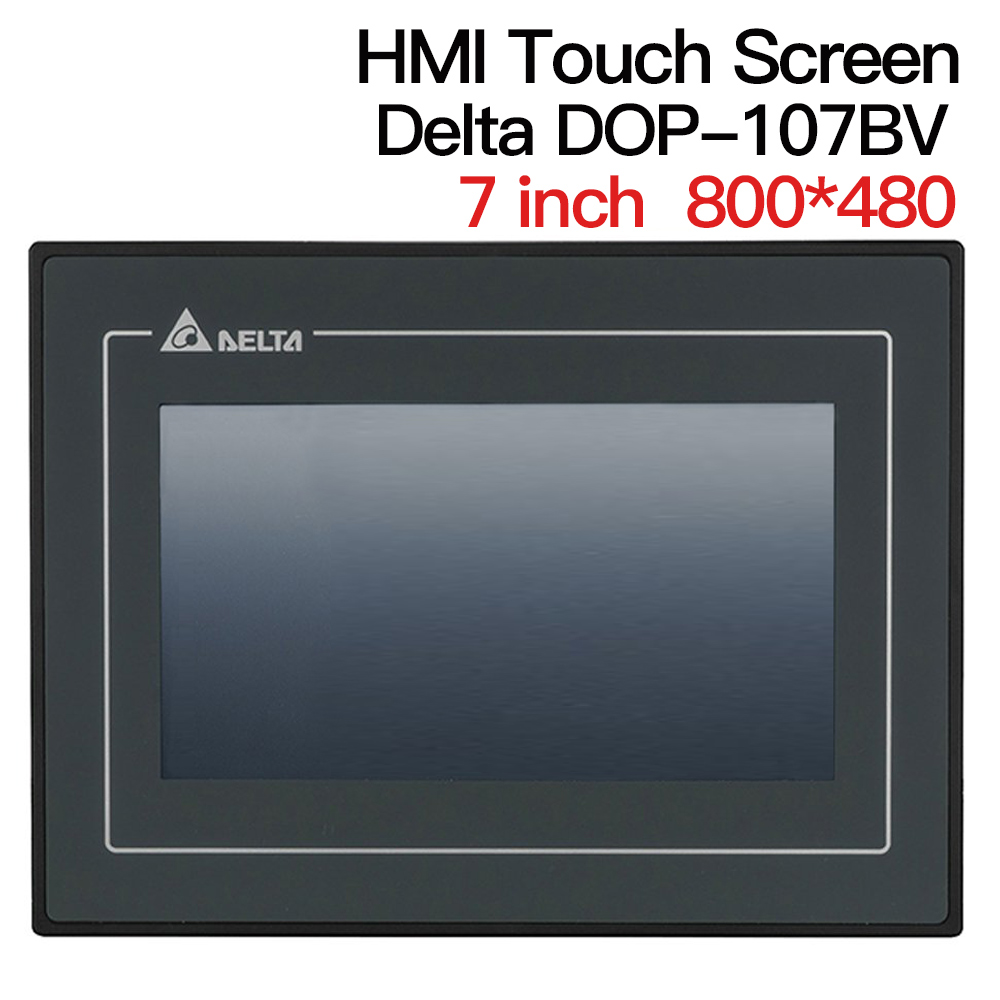 7'' Inch Delta DOP-107BV HMI Touch Screen Human Machine Interface Display Replace DOP -B07S411 DOP-B07SS411 B07S410 Data Cable