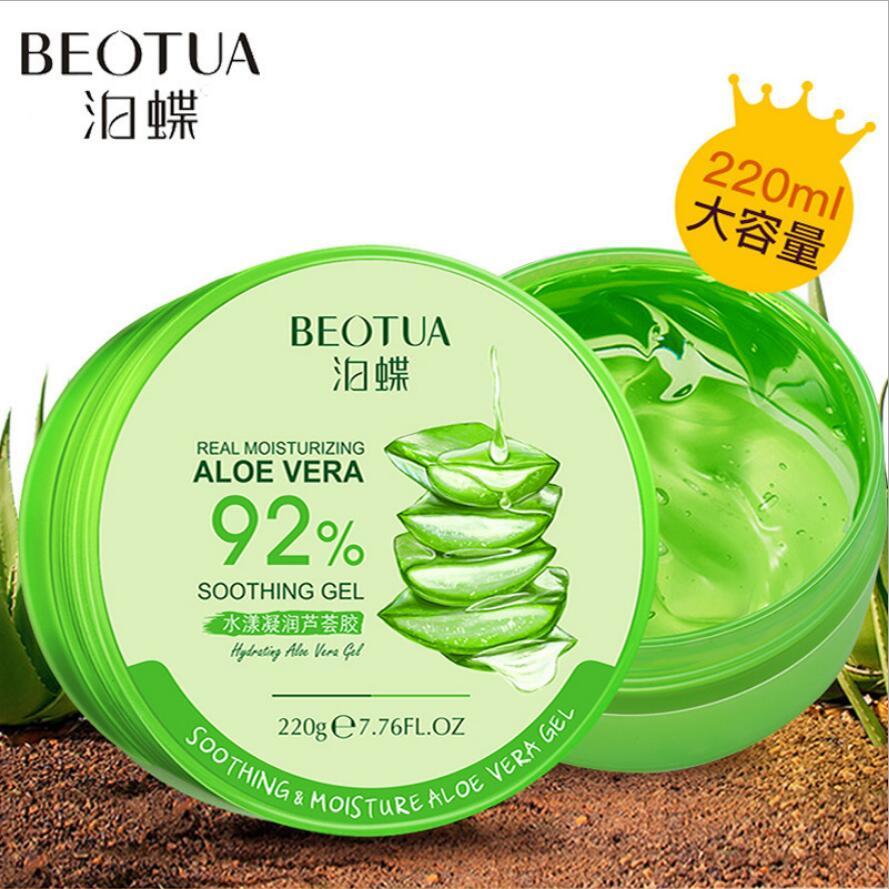 220g Aloe Vera Gel Essence Face Cream Moisturizing Snail Whitening Cream Acne Scar Removal Cream Korean Cosmetics Skin Care