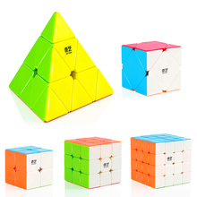 2x2x2 3x3x3 4x4x4 5x5x5 Skew Pyramid Professional Speed Magic Cube Base Puzzle Twist Classic Educational Cube Toys For Children