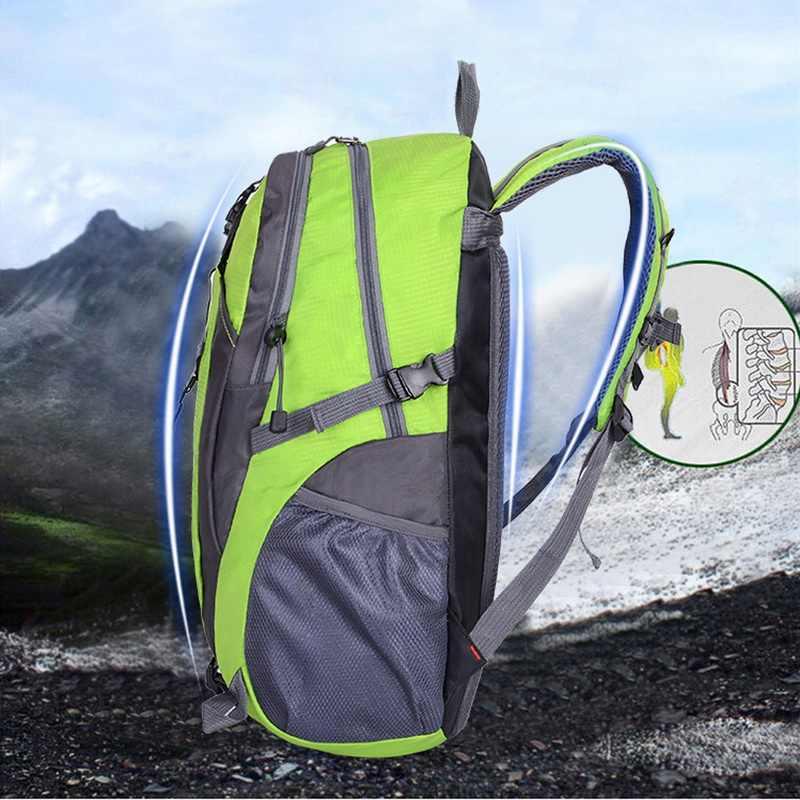 Litthing กระเป๋าเป้สะพายหลังกันน้ำขี่จักรยานกระเป๋าเป้สะพายหลังแล็ปท็อปผู้ชายผู้หญิงเดินทางกลางแจ้งกระเป๋า