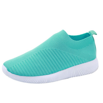 Women's Outdoor Mesh Shoes Casual Non-slip Comfortable Flat Running Sneaker Cover Penetrating Low-top Shoes 10