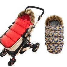 2020 зимние спальные мешки для детской коляски теплый Конверт