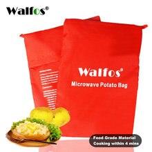 Walfos 1 шт моющийся мешок для микроволнового картофеля духовки