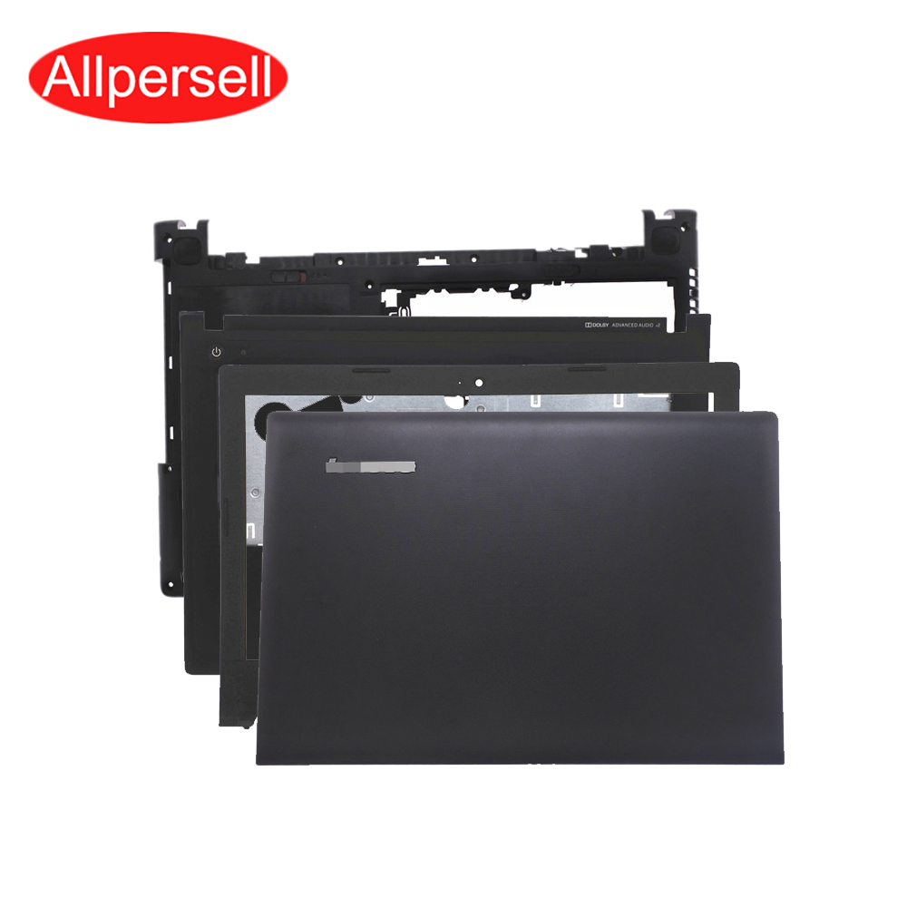 Laptop <font><b>case</b></font> for <font><b>Lenovo</b></font> <font><b>G400S</b></font> G405S non-touch top cover frame palm rest bottom shell DC power interface line image