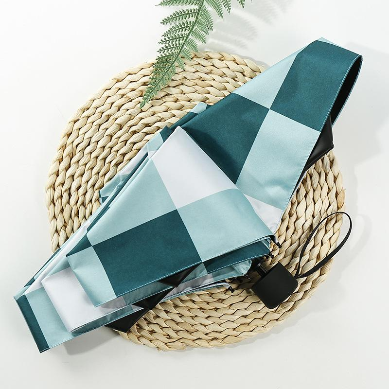 Sunny Rain Anti-Uv Paraguas Portable Travel Umbrellas Umbrella Girl Mini Pocket Cute Parasol 5 Folding Parapluie