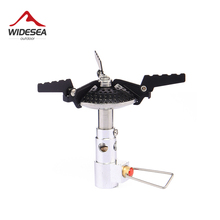 Widesea Camping gas burner backpack stove gasoline cylinder portable mini stove outdoor travel trekking hiking cooker