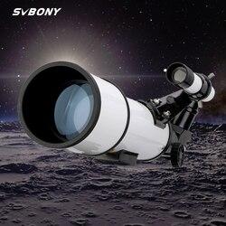 SVBONY SV501 70 mm teleskop astronomiczny monokularowy księżyc obserwacja ptaków dzieci dorośli astronomia początkujący F9348D Lunety/lornetki    -