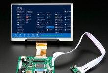 ЖК-монитор TFT с пультом дистанционного управления, экран 1024*600, 2AV HDMI VGA для Lattepanda,Raspberry Pi Banana Pi