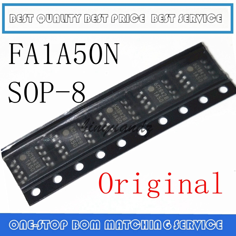 10PCS-50PCS  FA1A50 FA1A50N 1A50 SOP-8 LCD Power Management Chip