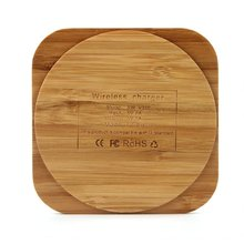 цена на Bamboo Wooden Qi Wireless Charger Charging Pad For Samsung Galaxy S6/ S6 Edge Plus S7/ S7 edge Note 5 /Note 7 Elephone P9000