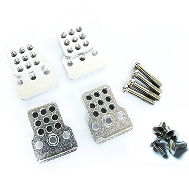 4Pcs RC Car Metal Shock Tower Bracket Kits Shock Sbsorbers Extension Seatfor 1/16 WPL C-14/C-14K/C-24/C-24K Truck Off Road Car P
