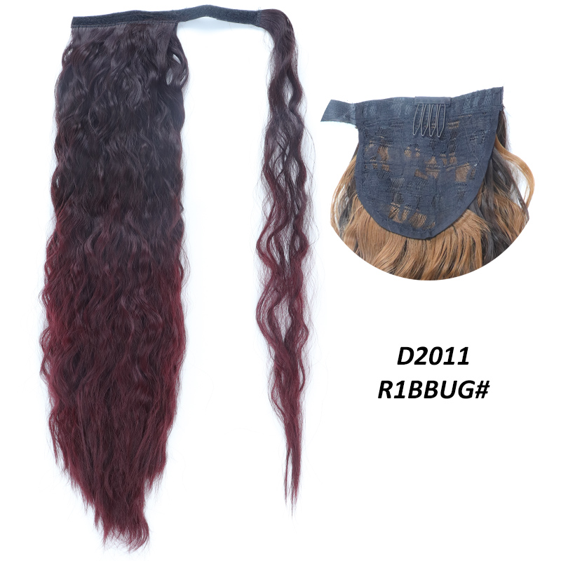 Ultimate SaleClip-In Ponytail Hair-Extension Wrap Around Fake-Hair Wavy Natural Synthetic Heat-ResistantÏ