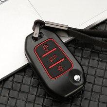 De silicona de aleación de Zinc llave de coche cubierta de la caja para Peugeot 301, 3008, 5008, 208, 307, 308, 508, 2008, 4008 para Citroen C4 CACTUS C5 C3 C4L C6 C8