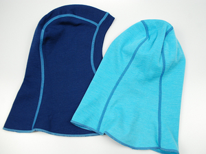 Image 4 - 100% צמר מרינו תינוק ילדים תרמית גרב רעול פנים כובע windproof כובע עבור 1 10 שנים