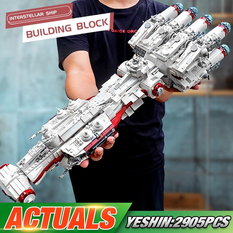 MOULD KING WX21003 The MOC 10308 Blockade Runner (Tantive IV) Set 05046 Building Blocks