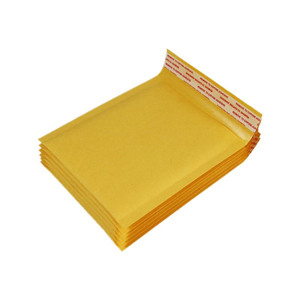 Image 3 - 4 sizes 50 Pcs Kraft Paper Bubble Envelopes Bags Padded Mailers Shipping Envelope With Bubble Mailing Bag