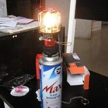 Lampe à gaz à paraffine universelle pour Camping d'extérieur, 15 pièces, lanterne à gaz, cape, pièces de rechange