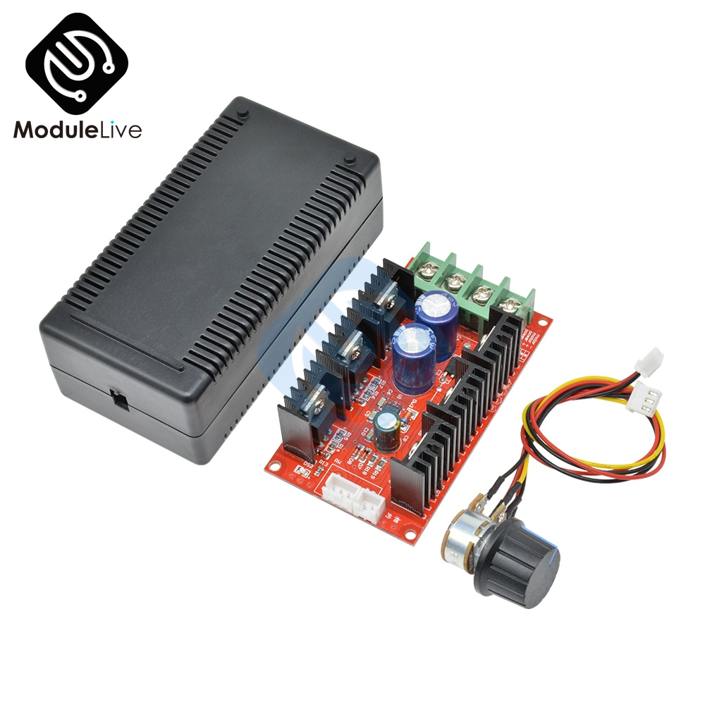 DC Motor Speed Control PWM HHO RC Controller 10-50V 40A 2000W MAX
