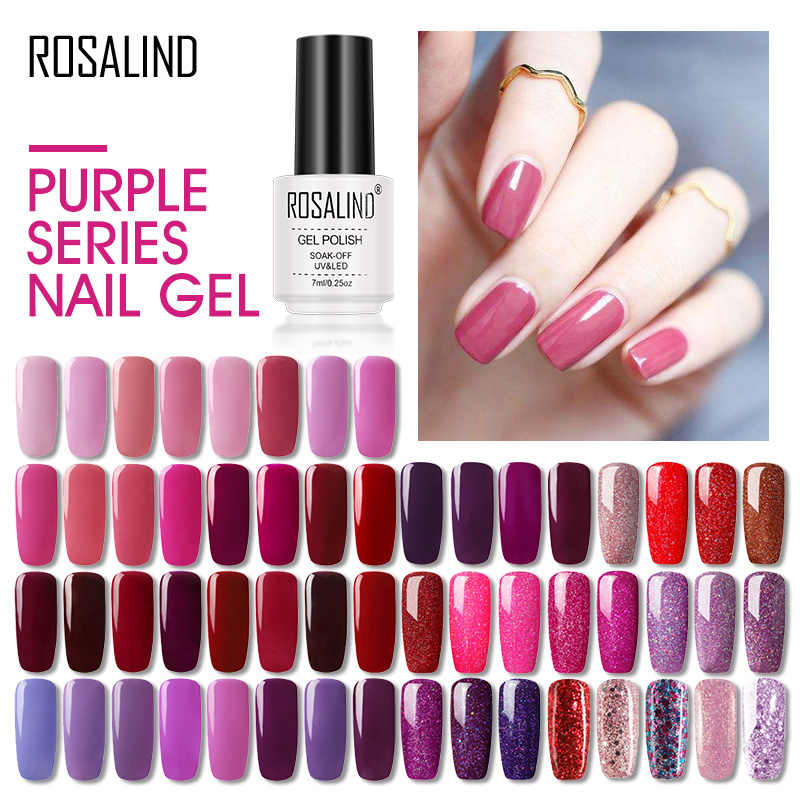 Rosalind Nail Gel Polish Hybrid Vernissen Alle Voor Manicure Gel Vernis Semi Permanente Nails Extension Lak Uv Gel Top Coat