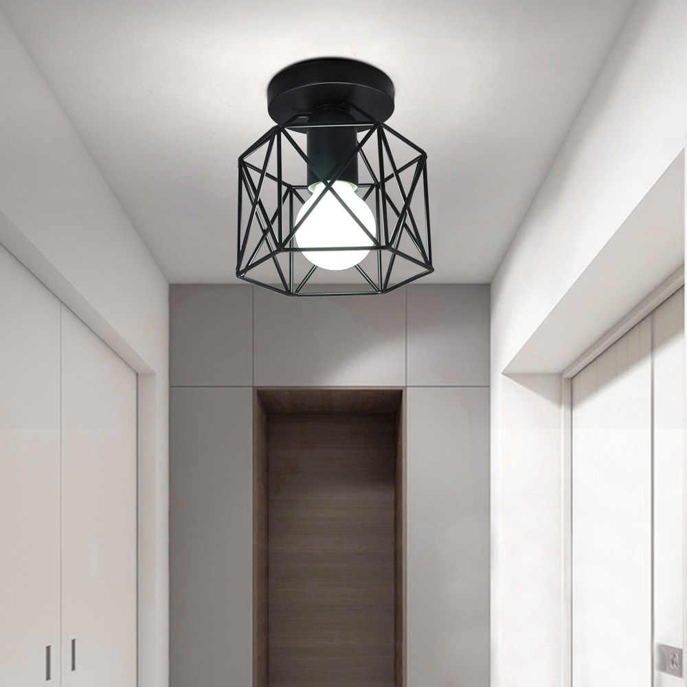 Lampada Da soffitto Industrial Vintage Apparecchi di Luce per la Cucina Agriturismo Corridoio E27 Base Corridoio di Passaggio Del Corridoio di Ingresso