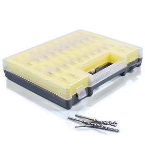 Image 4 - 150 PCS HSS Twist Drill Bit Size 0.4mm 3.2mm Metalworking Drill Bit Set Round Shank Mini Drill Bit