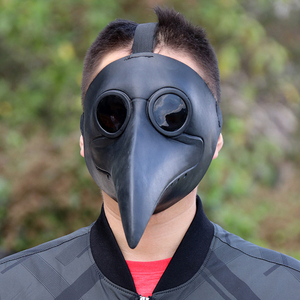 Image 5 - Retro Steampunk Plague Doctor Cosplay Mask Bird Gothic Punk Funny Latex Party Halloween Costumes Props