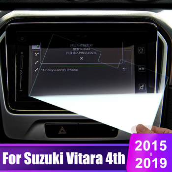 For Suzuki Vitara 4th 2015 2016 2017 2018 2019 Tempered Glass Car GPS Navigation Screen Protector Film LCD Protective Sticker image