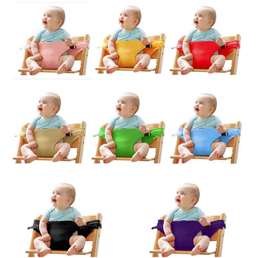 Bebê jantar assento cinto de segurança portátil infantil envoltório criança alimentação cadeira transportadora cintos de segurança para carrinho de bebê cadeira alta pram