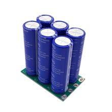 16V 16.6F Super Farad Capacitor 6PCS/Set 2.7V 100F Super Capacitor with Protection Board