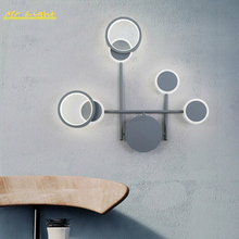 Nordic LED Wall Lamp Living Room Bedroom Bedside Wall Sconces Light Fixtures Balcony Aisle Loft Home Decor Wall Lights Lighting