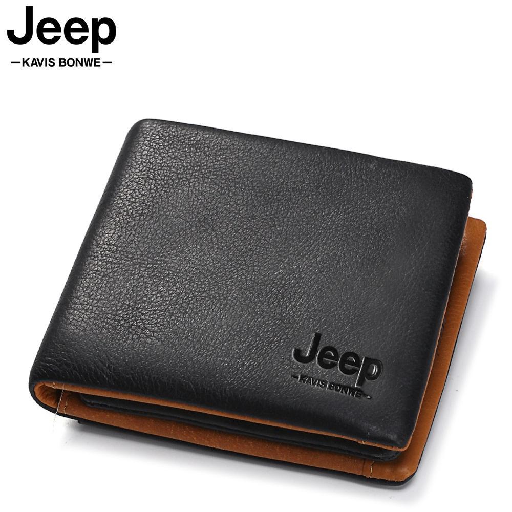 Genuine Leather Men's Wallet Leather Luxury Brand Coin Pocket Male Cudan Portomonee Coin Purse Fashion Mini Male Money Pocket