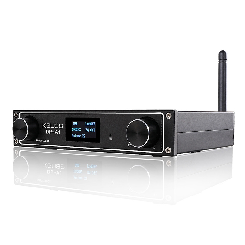 ABKT-Kguss Dp-A1 Hifi Digital Bluetooth Audio <font><b>Amplifier</b></font> Csr64215 Bluetooth 4.2/Usb/Fiber/Coax/Aux Input 24Bit 192Khz <font><b>120W</b></font> X 2 Ap image
