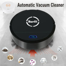 Автоматический умный робот пылесос перезаряжаемый очиститель края всасывающая подметальная машина