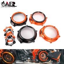 Jaer Cnc Motor Onderdelen Racing Clutch Cover Lente Retainer Voor Ktm 1050 1090 1190 1290 Adventure Adv 1290 Superduke R/Gt