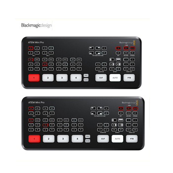Disponibile design originale Blackmagic ATEM Mini Pro / ATEM Mini HDMI live stream switcher multi-visualizzazione e registrazione di nuove funzionalità