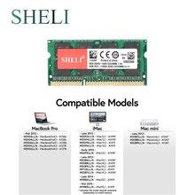 SHELI 8GB PC3-12800 DDR3 1600MHz SODIMM Memory RAM for APPLE MacBook Pro iMac Mac Mini